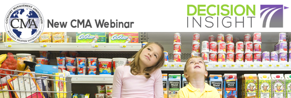 New Date for CMA Webinar: You Can't Automate the Shopper