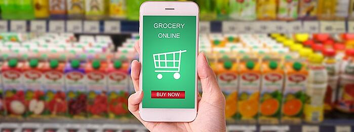 online grocery growth